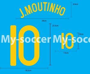 PORTUGAL Home EURO 2008 SOCCER FOOTBALL PU NAME NUMBER PRINT