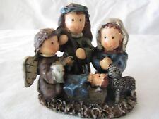 Holy Family Figurine Christmas Holiday Decor Dickens Brand Nativity