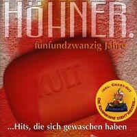 """HÖHNER """"BEST OF-25 JAHRE"""" CD NEUWARE"""