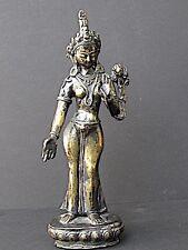 Tara Verte en bronze du NEPAL