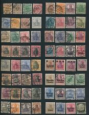 Germany **64 EARLY ISSUES** MOSTLY USED; NO FAULTS/ALL DIFFERENT CV $120