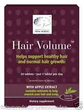 NEW NORDIC US INC HAIR VOLUME NORMAL HEALTH & GROWTH DIETARY NATURAL BODY CARE