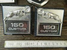 "1979-1991 Dodge Ram Van/Pick-up 2x"" 150 Custom ""Lettrage/Script, le FRT-Fender"