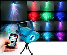 9W RGB LED Water Wave Stage Light Disco DJ Bar Show Beam Effect Lighting Lamp