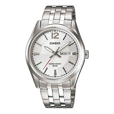 Casio  Women's  Watch   LTP-1335D-7A   Day&Date  50m   White  Dial  LTP1335