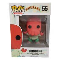 FUNKO POP Vinyl Zoidberg 55 Futurama Rare Vaulted in Box (BOX DAMAGE)