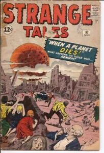 Atlas/Marvel Strange Tales #97 When A Planet Dies Mystery Pupil Monster Horror