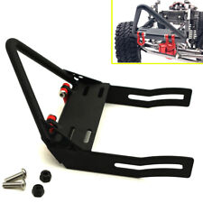 1:10 Steel Front Bumper w/ Winch Mount Shackles For Axial SCX10 RC Crawler Car