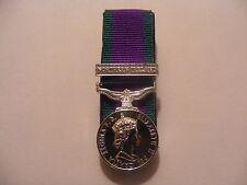 General Service Medal Northern Ireland Miniature Court Mounted (GSM, CSM, NI)