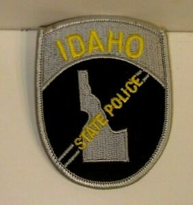 IDAHO  STATE  POLICE OFFICER  patch