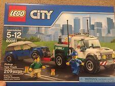 Lego 60081 PICKUP TOW TRUCK city town car minifigure train wrecker 2 minifigures