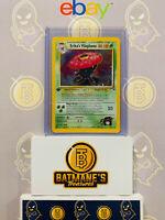 Erika's Vileplume 5/132 1st Edition NM Near Mint Gym Heroes Rare Holo Pokemon