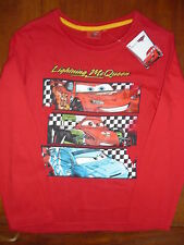 """TEE-SHIRT MANCHES LONGUES """"CARS"""" TAILLE 8 ANS NEUF"""