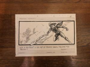 Superman Storyboard Single Panels (Copies)