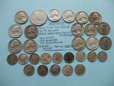 More details for 30 xusa .900 silver coins,nice coins here,14 dimes,15 x quart,1/2 doll,140 grams