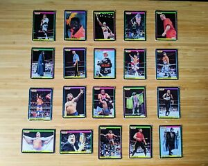 WWF GOLD SERIES 1992 TRADING CARDS MERLIN WWE WRESTLING FLAIR SAVAGE WARRIOR