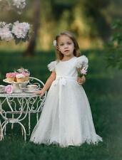NWT Dollcake White Celebrations Frock Dress Photo Birthday Wedding Special sz 8