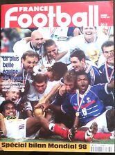 France Football 14/07/1998; Spécial; La France remporte la coupe du monde