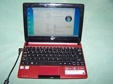 "Acer Aspire One D255 Intel Atom N450, 1,66 ghz 2gb 250gb 10,1 ""Netbook Win 7"
