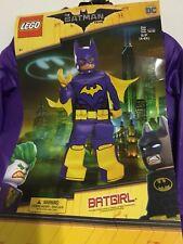 LEGO Batman The Movie Batgirl Deluxe Costume Purple Size Small 4-6X New!