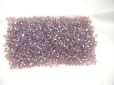 100 swarovski round crystal beads,4mm light amethyst AB #5000