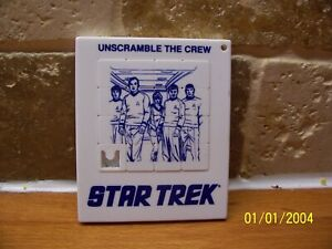 Vintage Star Trek - Sliding Puzzle - Never Used - Mint Condition - 1970s.