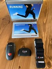 POLAR Running FootPod  User Manual RS 200 RS200sd WearLink Coded 31 & Strap