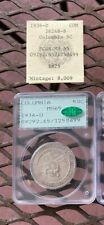 1936-D Columbia Commemorative Half Dollar PCGS MS65 CAC Rattler, with 1980s tag