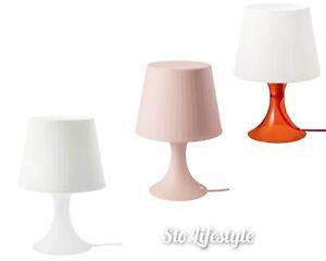 "Small Table Lamp 11"" IKEA LAMPAN Choose Color Art Deco Modern Kids Baby Room NEW"
