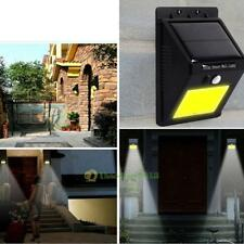 Solar Power 48 LED Motion Sensor Light Wall Outdoor Waterproof Garden Yard Lamp