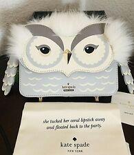 Kate Spade Star Bright Owl Mini Jocelyn Handbag Clutch Purse New Sold out
