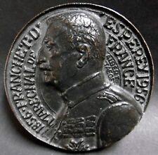 Médaille MARECHAL FRANCHET D'ESPEREY 1856-1956 Signé Albert de Jaeger - 63,4 mm