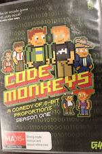 CODE MONKEYS: SEASON ONE 1 RARE OOP DELETED DVD ADAM DE LA PENN TV SERIES SET
