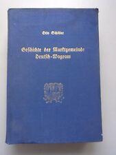 Geschichte der Marktgemeinde Deutsch-Wagram Umgebung Aderklaa Parbasdorf