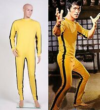 Bruce Lee The Game of Death Jumpsuit Tuta Vestito Kongfu cosplay *Su Misura*