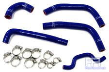 HPS Reinforced Silicone Radiator Hose Kit - KX250F Racing Dirt Bike 09-10 Blue