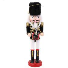 Schiaccianoci Soldato Con Tamburo Legno Nutcraker Decorativo Addobbi Natale