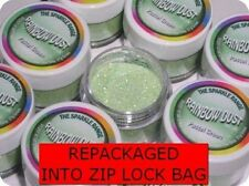 GREEN PASTEL Rainbow Dust 'Edible' Cake Glitter Sparkle repackaged*SAME DAY POST
