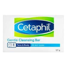 CETAPHIL GENTLE CLEANSING BAR 127G FOR ALL SKIN TYPE SOAP FREE SOFTEN CLEANSES