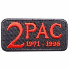 Tupac Shakur 2 Pac Hip Hop Rapper Music Iron-On Patches Jacket Vest Shirt #M0134