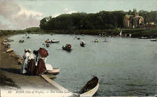 Ryde, Isle of Wight. The Canoe Lake # 15 by LL / Levy. Coloured.