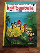 la ribambelle aux galopingos EO 1968 phil, grenadine, archibald roba dos rond