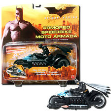 Batman Begins Vehicle Batcycle Rev 'N Go Armored Speedbike 5-Inch Scale - Mattel