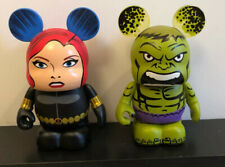 Disney Vinylmation Marvel 1 Set Of 2 Black Widow & Hulk