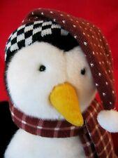 "MUMMFORD Penguin Plush Friends TV Joeys Pal HUGSY 18"" Debbie Mumm"