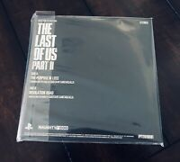 "The Last of Us Part II 2 Ellie Edition 7"" Music Soundtrack Vinyl Record ONLY"