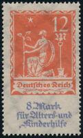 DR 1922, MiNr. 234 I, tadellos postfrisch, Kurzbefund Winkler, Mi. 150,-