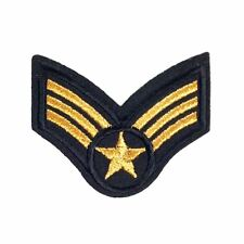 Star Army Badge (Iron on) Embroidery Applique Patch Sew Iron Badge