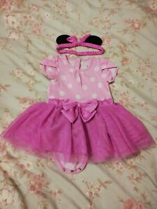 Baby Girls Minnie Mouse 6-9 Months