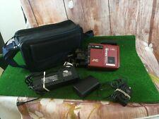 Vintage Retro JVC GR-C7E VHS-C Film Cassette Video Movie Camera camcorder